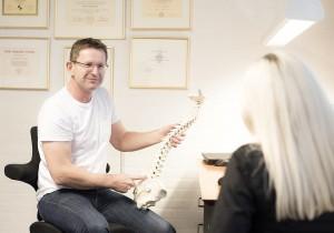 kiropraktor lystrup undersøgelse